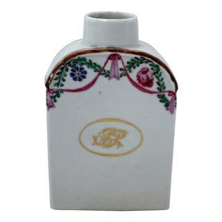 1780 Continental Tea Caddy For Sale
