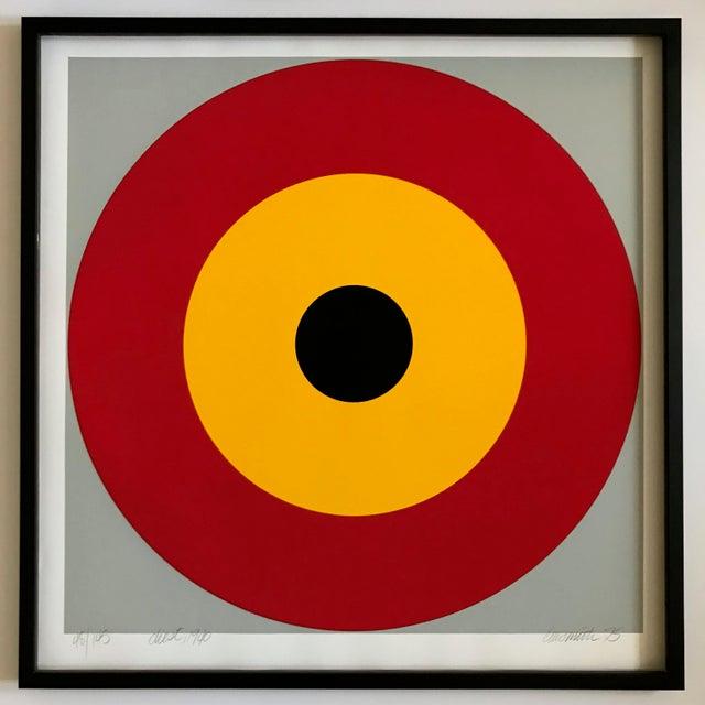 Acrylic 1975 Chris Smith Framed Silkscreen Set of 10 For Sale - Image 7 of 12