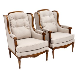 French Louis XVI Bergéres - a Pair For Sale