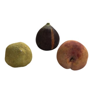 Giant Italian Stone Fruit, 3 For Sale