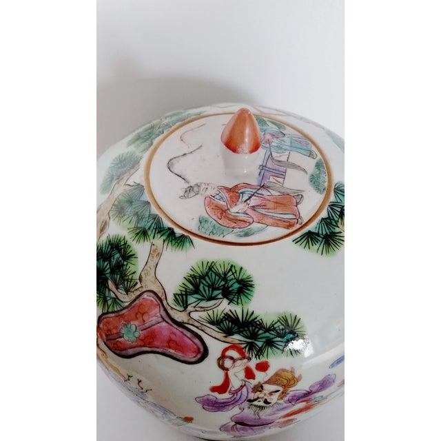 Antique Chinese Ceramic Melon Jar - Image 4 of 7
