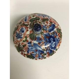 18th Century Vintage Meissen Porcelain Floral Round Trinket Box Preview