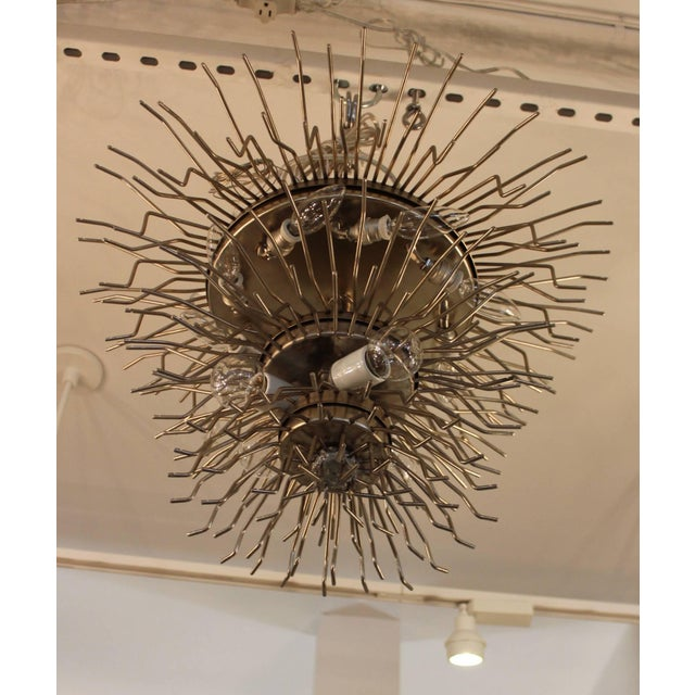 Large 1960s Venini Chandelier For Sale - Image 9 of 10