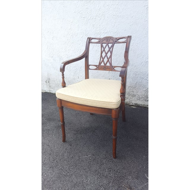 Cane Seat Armchairs - A Pair - Image 9 of 9