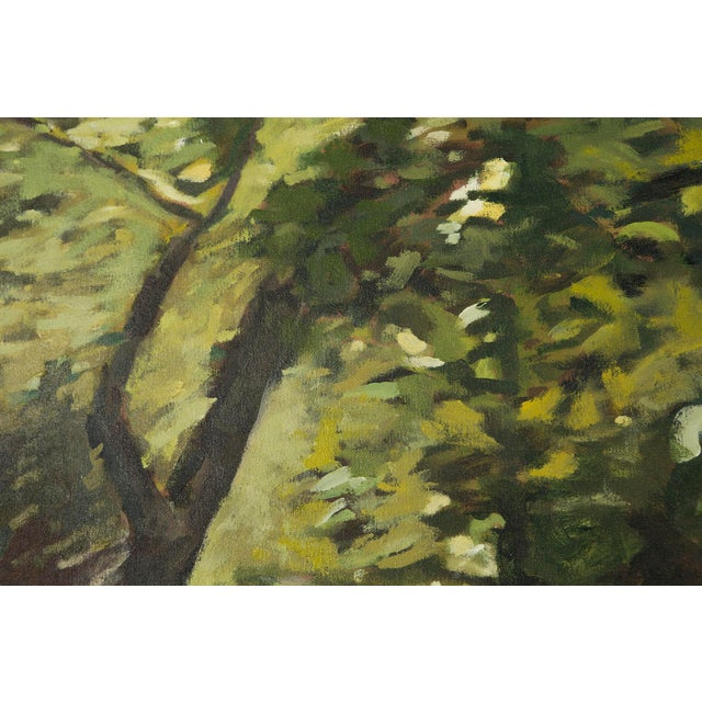 "Slater Sousley, ""The Woods Beckon"" Painting For Sale - Image 4 of 9"