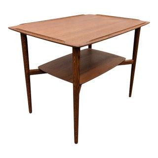 Vintage Danish Mid Century Torben Strandgaard Side Table For Sale