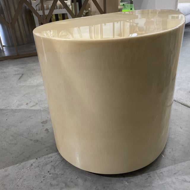 1970s 1970s Modern Goatskin Coffee Table For Sale - Image 5 of 10