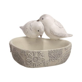Love Birds Heart Shaped Dish For Sale