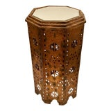 Image of Moroccan Metal Work Table For Sale
