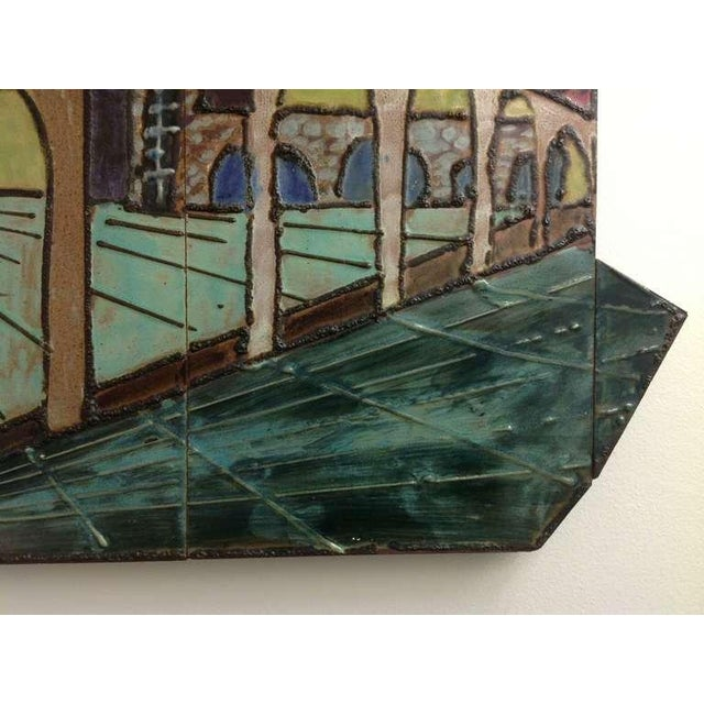 Mid-Century Modern Harris Strong Ceramic Wall Art For Sale - Image 3 of 7