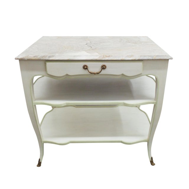 Frederick P. Victoria & Son, Inc. Astor Side Table For Sale - Image 4 of 7