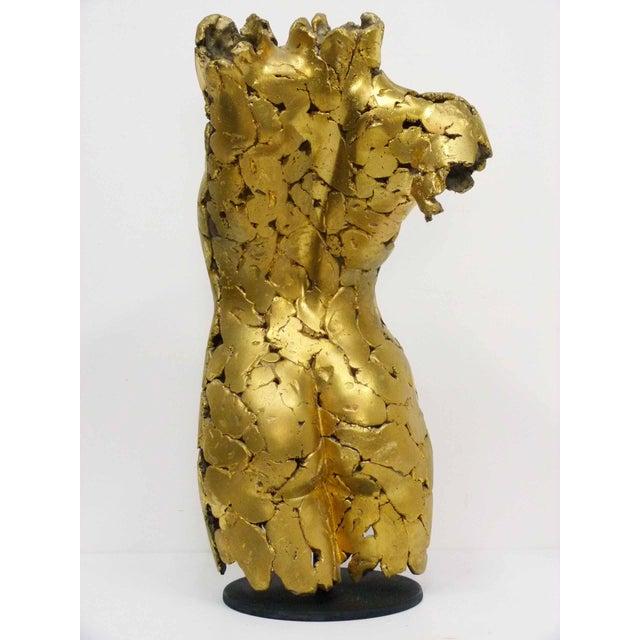 Brutalist Life Size Female Torso Sculpture For Sale - Image 4 of 10