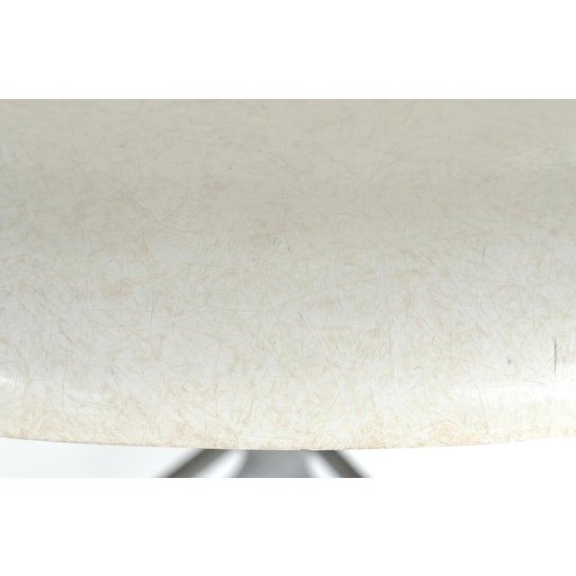 Metal Charles Eames for Herman Miller Bar/Counter Stools in Molded Fiberglass C.1960s - a Pair For Sale - Image 7 of 13