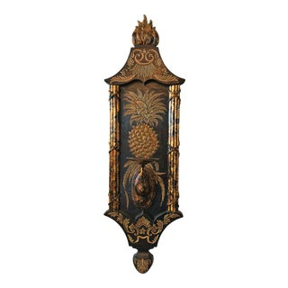 Maitland Smith Pineapple Candle Wall Sconce For Sale