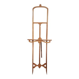 American Oak Free Standing Easel C.1920 For Sale