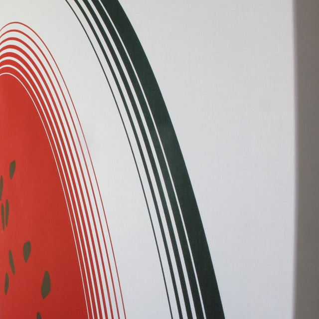 Mid-Century Original Watermelon Silkscreen - A Pair For Sale In San Francisco - Image 6 of 7