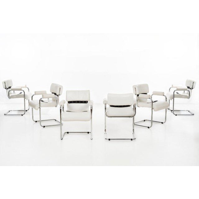 Mariani Set of 8 Dining Chairs For Sale - Image 11 of 11