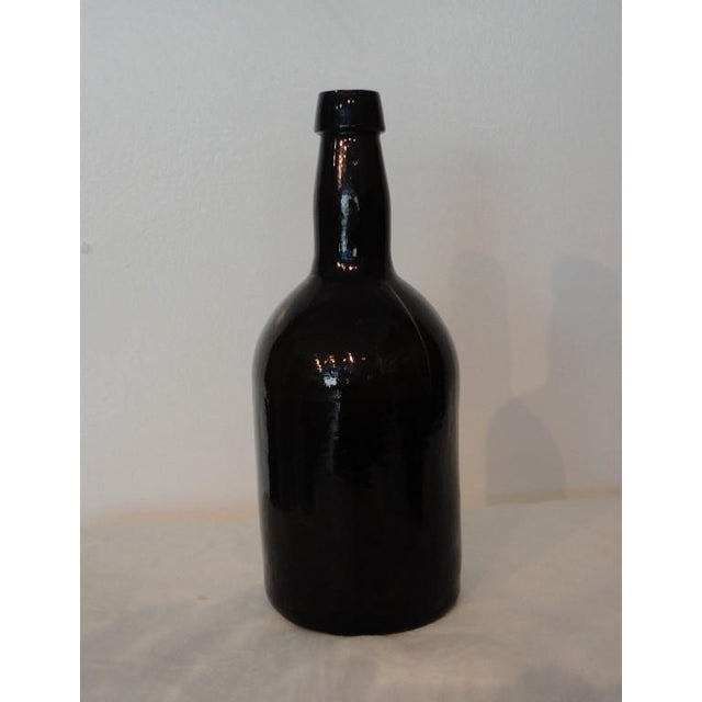 Fantastic Early 19thc Collection of Olive Green Bitters Bottles - Image 9 of 9