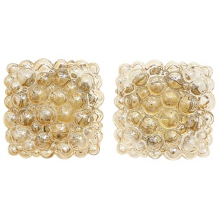 1960s Champagne Bubble Sconces by Helena Tynell - a Pair For Sale