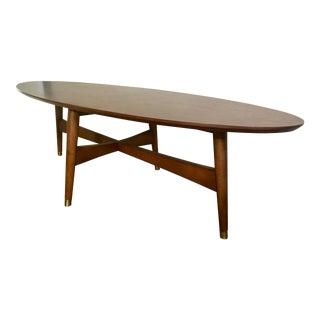 West Elm Mid-Century Oval Coffee Table