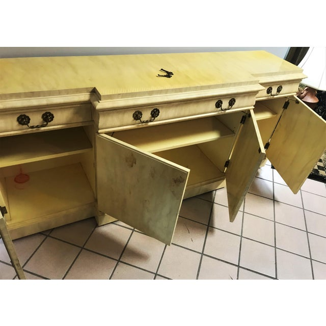 Vintage Lacquer Sideboard By Karges Furniture For Sale - Image 12 of 13