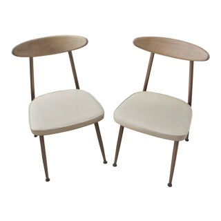 1950s Vintage Vigo Baumritter Dining Chairs- A Pair For Sale