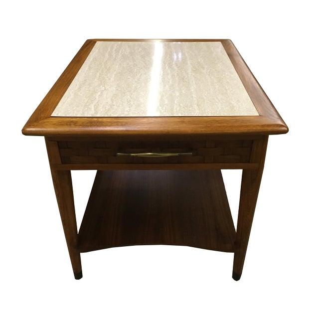 Mid-Century Modern Walnut Side Table - Image 6 of 6