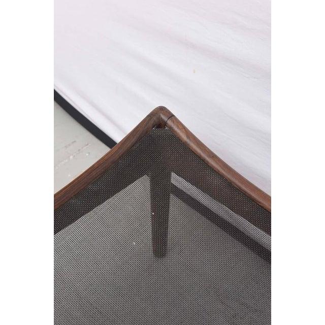 Wood Danish Walnut Footstool or Ottoman, 1960s, Denmark For Sale - Image 7 of 8