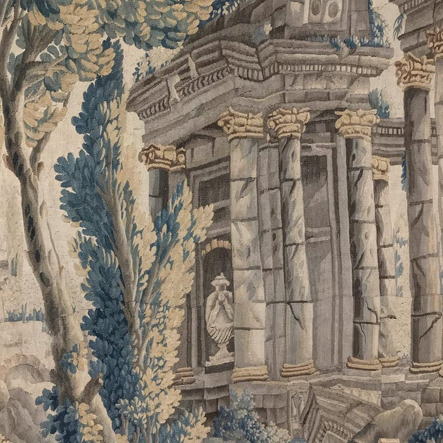 Grand 17th Century Oudenaarde Tapestry For Sale - Image 11 of 13