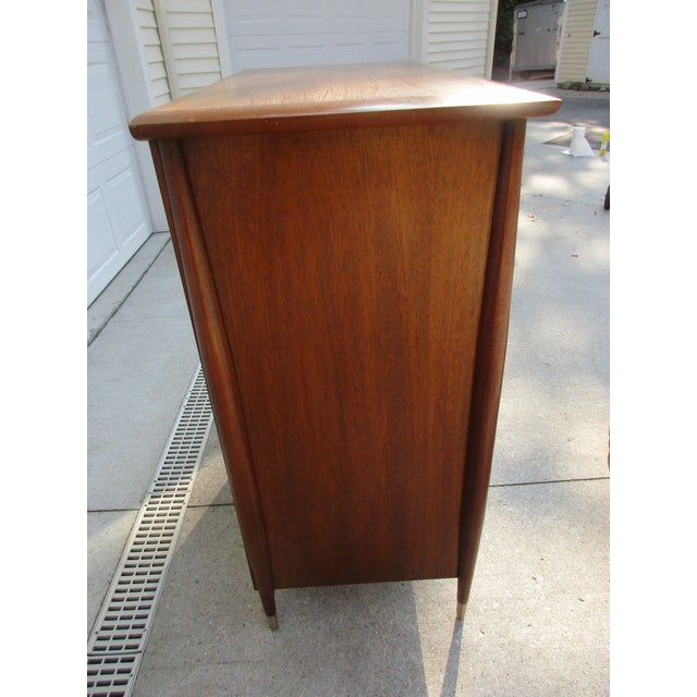 Mid-Century Modern Mid-Century Modern Rway Tall Chest of Drawers -Custom Made For Sale - Image 3 of 13