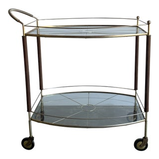 Mid Century Bar Cart For Sale