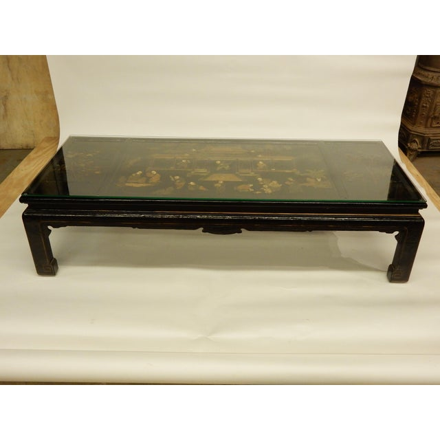 Lacquered Chinoiserie Coffee Table For Sale - Image 11 of 11