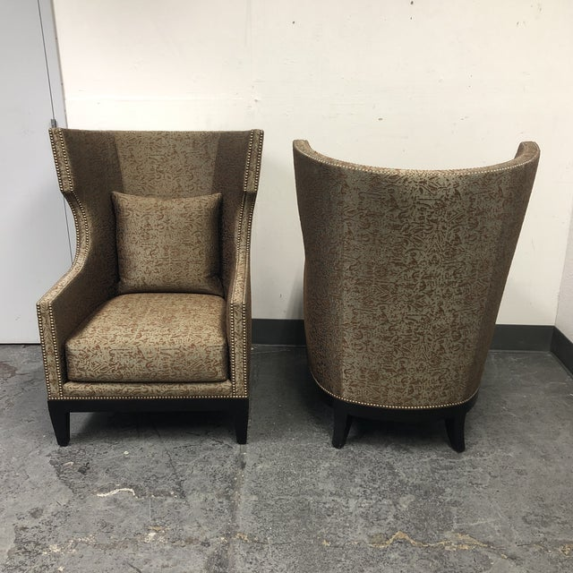 Metal Ironies Tule Lounge Chairs- a Pair For Sale - Image 7 of 13