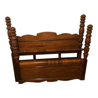 Traditional Post Full Bed Headboard and Footboard - 2 Pieces For Sale