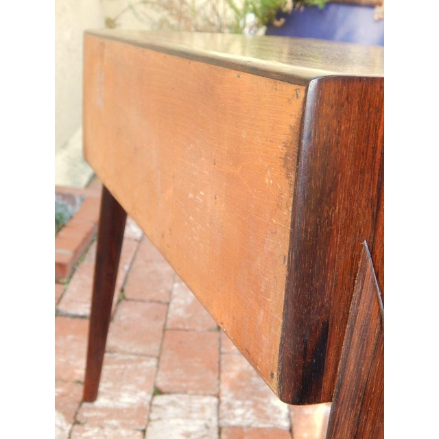 Swedish Mid-Century Modern Mini-Chest in Rosewood - Image 8 of 8