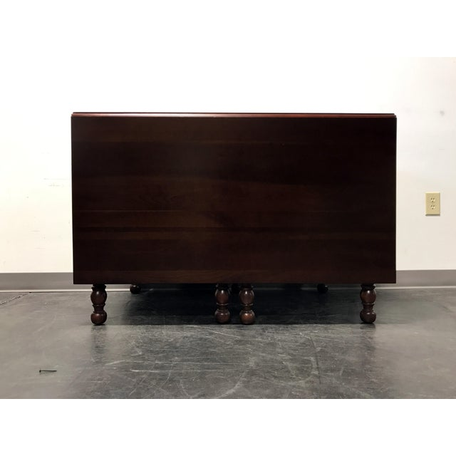 Willett Cherrywood Gate Leg Drop Leaf Dining Table For Sale In Charlotte - Image 6 of 11