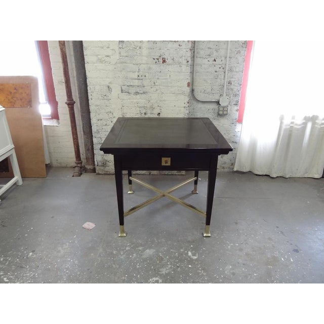 Secessionist Game Table with Synchronized Mechanical Trays For Sale - Image 4 of 8