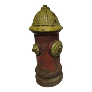 Painted Cast Iron Fire Hydrant For Sale