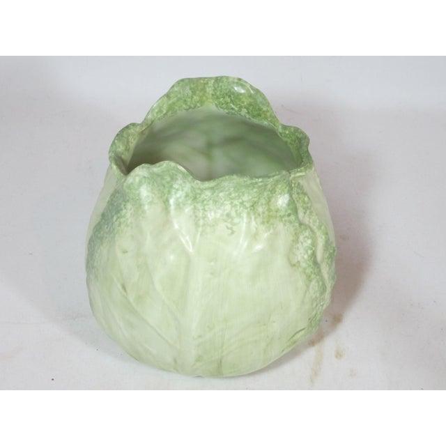 Ceramic Vintage Mann Cabbage Vase For Sale - Image 7 of 7