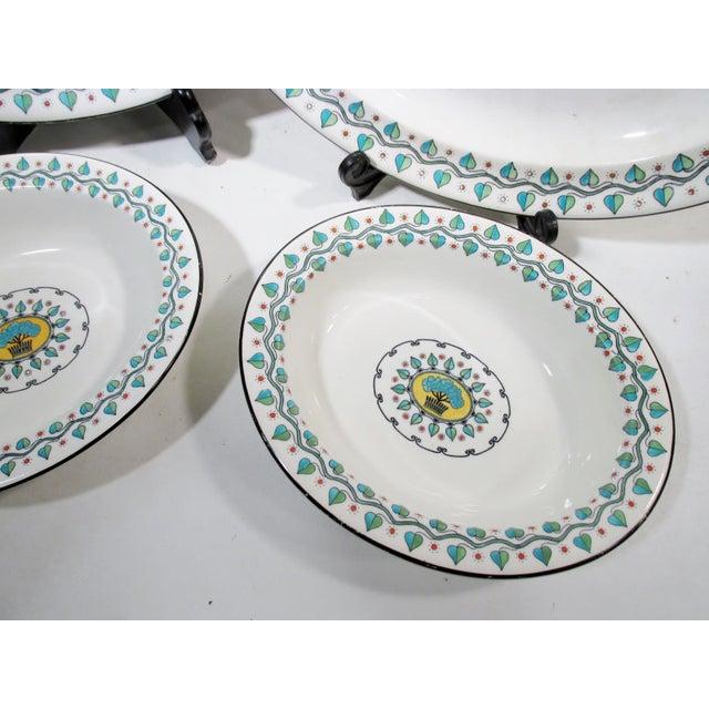 Arts Crafts Wedgwood China Vine Berries Serving Platters Bowls