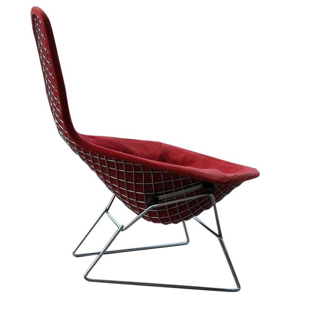 Knoll Bertoia Bird Chair With Cover - Image 3 of 5