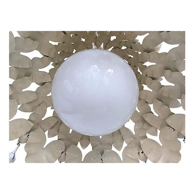 1950s 1950s Garden Leaf Pendant Light For Sale - Image 5 of 7