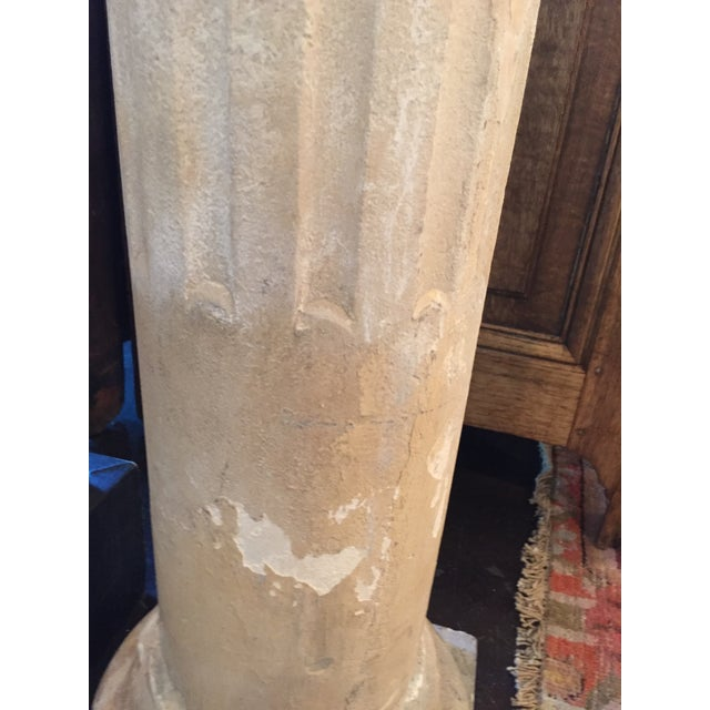 1940s 1940 French Cement Column For Sale - Image 5 of 8