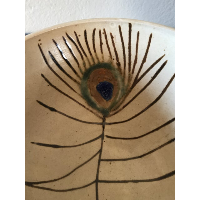 1960s Mid-Century Modern Studio Pottery Bowl For Sale - Image 5 of 6