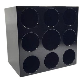 Sculptural Fiberglass Wine Rack For Sale