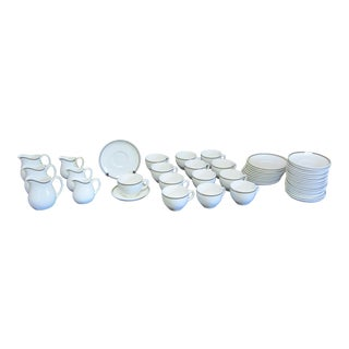 1970s Wedgwood Bone China Tea Service for 11 - 49 Pieces For Sale
