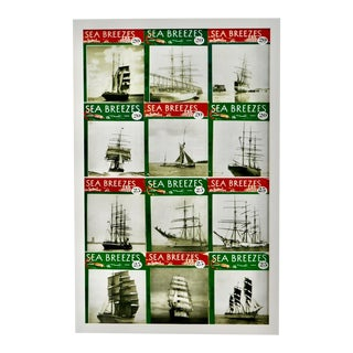 Coastal Nautical White Wall Decor Sailing Magazines For Sale