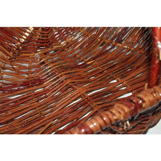 Monumental Hickory Gathering Basket - Image 5 of 6