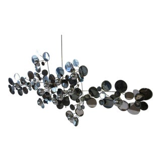 Curtis Jere Raindrop Metal Wall Sculpture