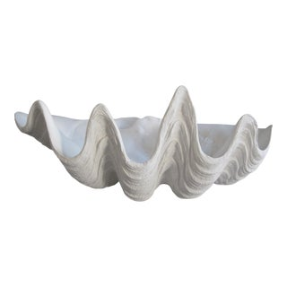 Ceramic Clam Shell Bowl For Sale